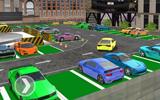 Otoparkta Araba Park Etme Yarışı