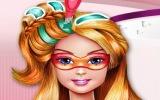 Barbie Saç Boyama