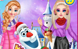 Barbie Ve Ailesi Kış Tatilinde