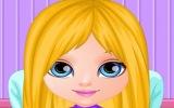 Bebek Barbie Saç Kesimi