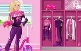 Bisikletli Barbi Yarış ve Giydir