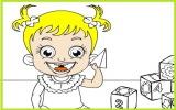 Hazel Bebek Boyama Oyunu Oyna Tok Oyun
