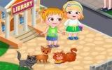 Hazel Bebek ve Kediler