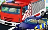 İtfaiye Polis Ambulans Yıka