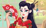 Japon Kızı Giydirme