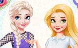 Rapunzel Ve Elsanın Beğeni Rekabeti