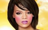 Rihanna Gerçek Makyaj