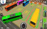 Şehirde Otobüs Park Etme
