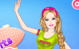 Sportif Barbie